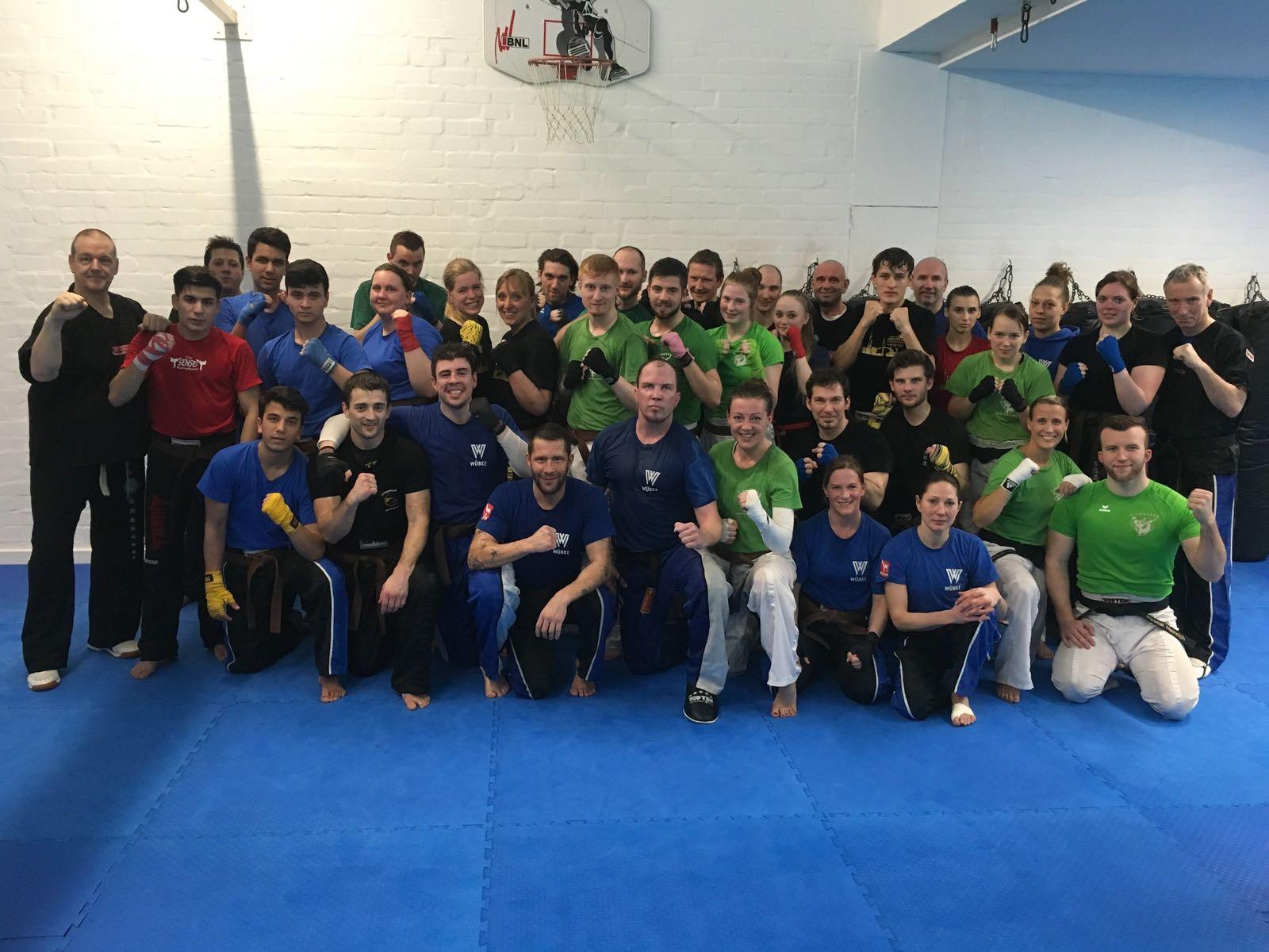 1. DAN-Vorbereitungslehrgang   Kickboxcenter Hamburg